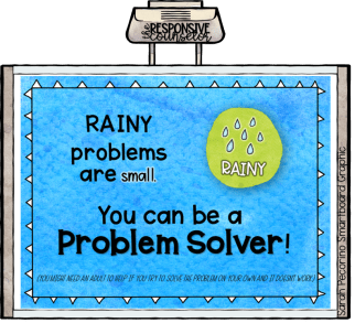 size of the problem lesson