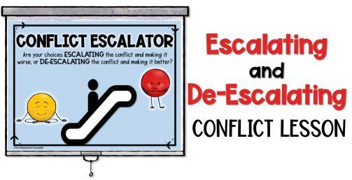 conflict escalator lesson