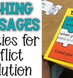 Teaching Talk it Out: I-Message Lesson Plans - The Responsive Counselor [ 1313 x 2560 Pixel ]
