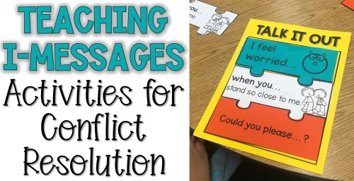 small resolution of Teaching Talk it Out: I-Message Lesson Plans - The Responsive Counselor