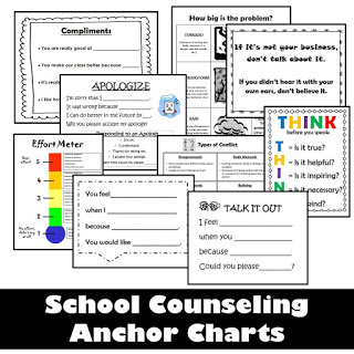 Counseling Anchor Charts