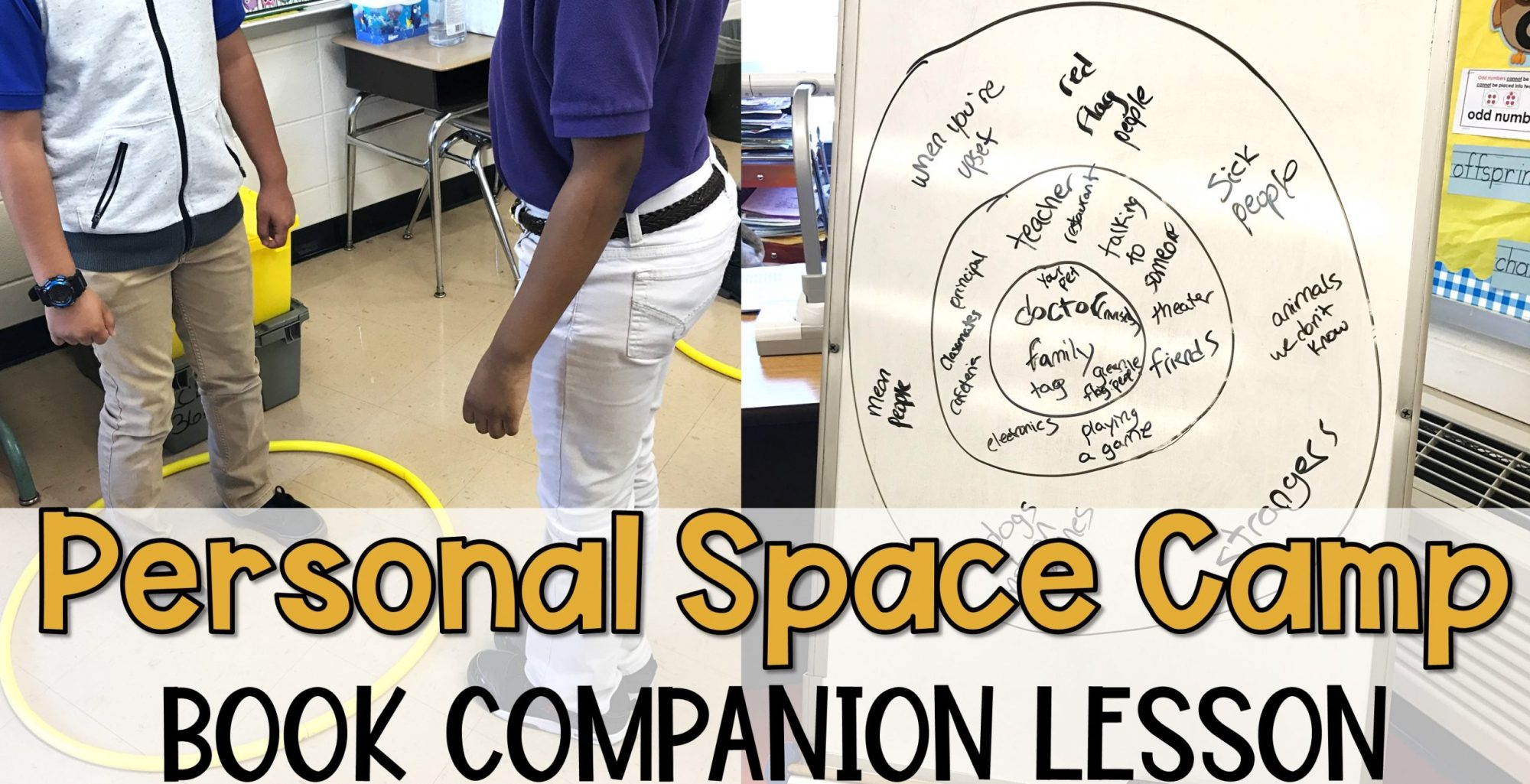 hight resolution of Personal Space Camp Lesson - The Responsive Counselor