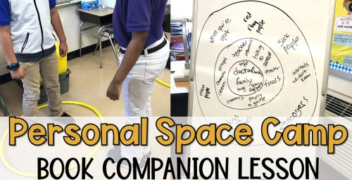 small resolution of Personal Space Camp Lesson - The Responsive Counselor