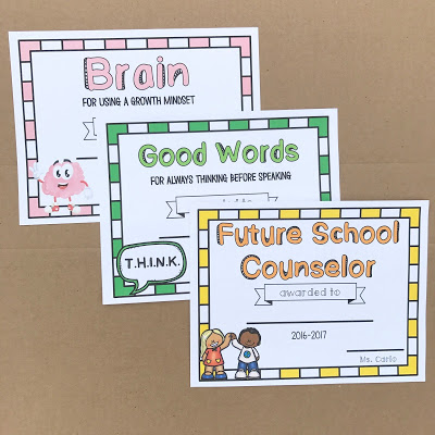 Social Emotional Learning awards