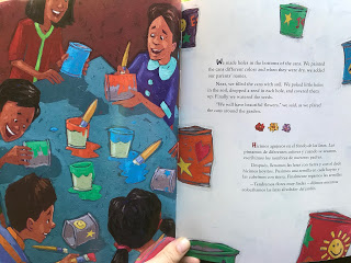 """A look inside """"From North to South/Del Norte al Sur"""", an elementary age book about deportation."""