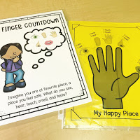School Counselor Coping Skills Lesson Plan: Examples of Calm down box contents