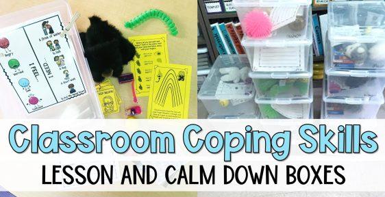 Classroom Coping Skills Lesson