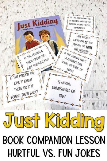 just kidding lesson