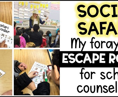 School Counseling Escape Room: Social Skills