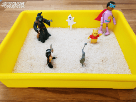 counseling rice tray