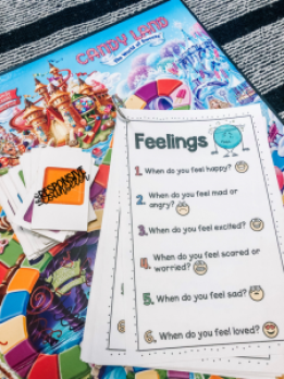 feelings group activity