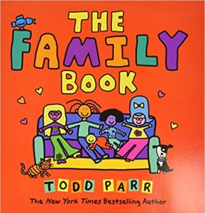 The Family Book by Todd Parr book cover