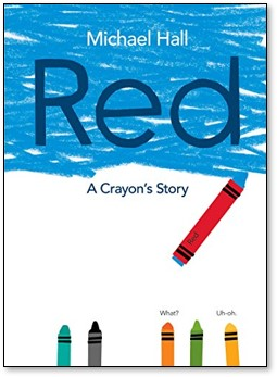 Red by Michael Hall book cover