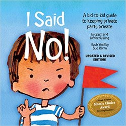 I said no by Zack and Kimberly King book cover
