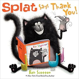 splat says thank you book cover