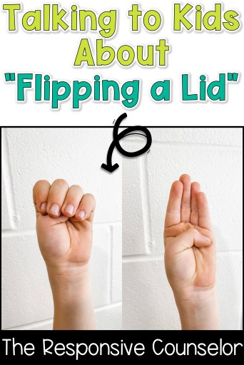 how to teach kids about flipping a lid plus activities about the parts of the brain