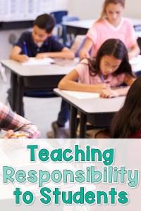teaching students responsibility