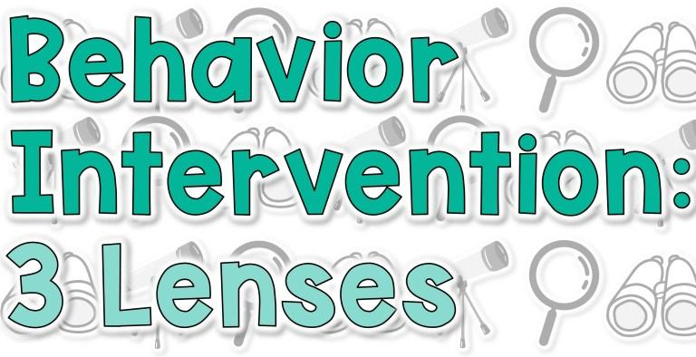 behavior intervention title image
