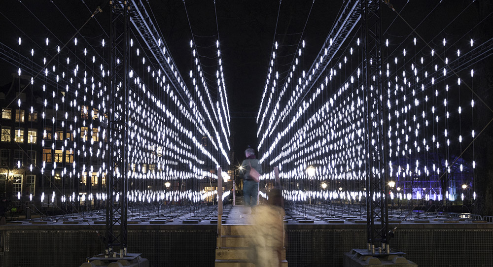 Alley of Light, Amsterdam Light Festival, 2014-2015, Serge Schoemaker Architects