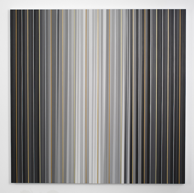 Gabriele Evertz, 'Grays and Metallics (Aedicula)', from the