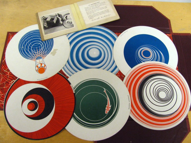 Marcel Duchamp, 'Rotoreliefs', 1935.