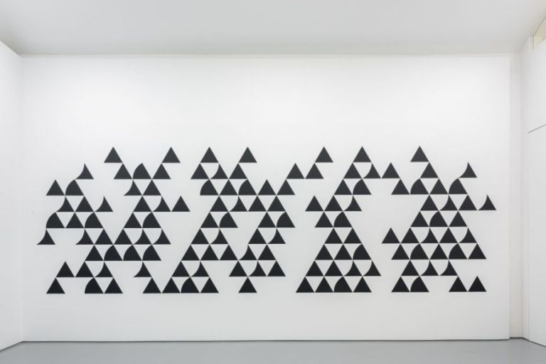 Bridget Riley, 'Quiver 3', 2014, wallpainting.