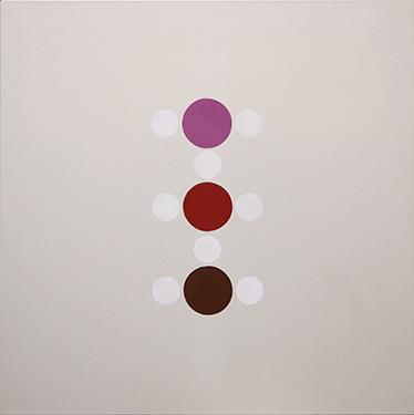 Thomas Downing, 'Kissii', 1972, Acrylic on canvas, 50 x 50 in (127 x 127 cm).