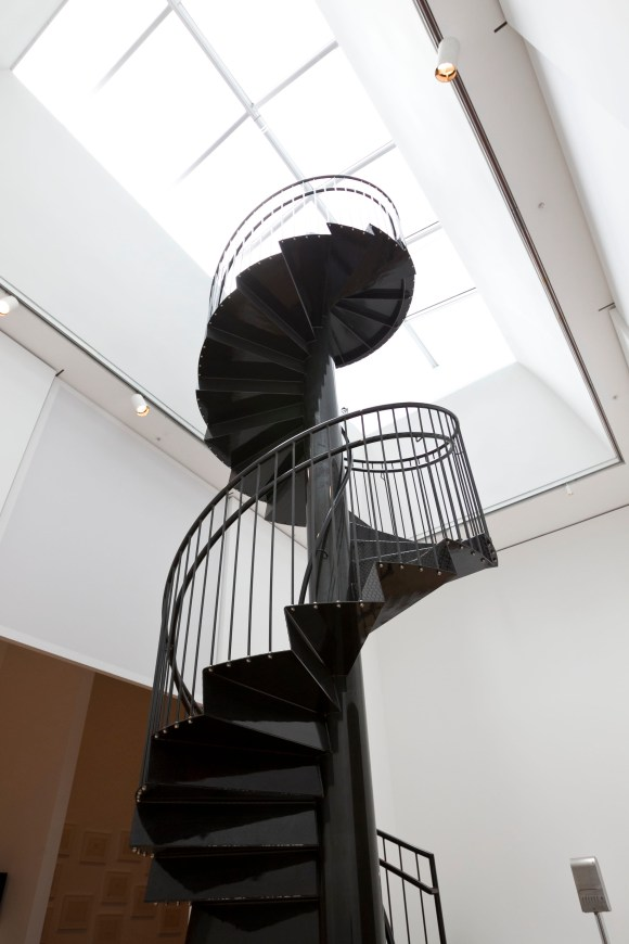 Yoko Ono's 'To See the Sky', a spiral stairway to the heavens for visitors to climb. Photo: Anne Wermiel.