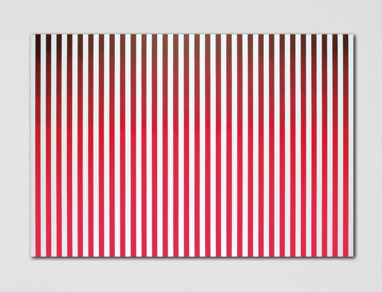 Philippe Decrauzat,'N. 1974,Untitled #3', acrylic on canvas, 2008.