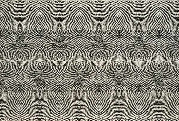 "Tom Orr, Right Thumb Print  1 INKJET ON PAPER 18"" x 26"""