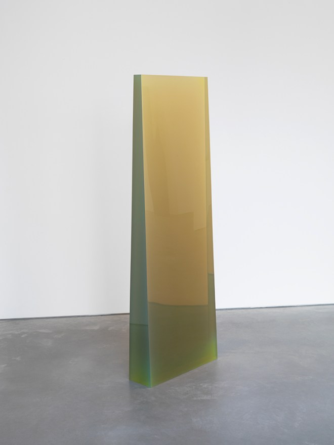 De Wain Valentine, Column Fluorescent Yellow, 1968