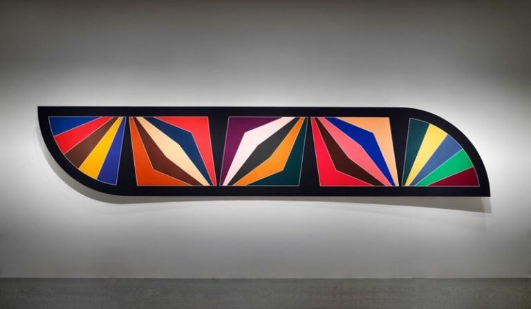 Frank Stella (b.1936), Damascus Gate (Stretch Variation III), 1970
