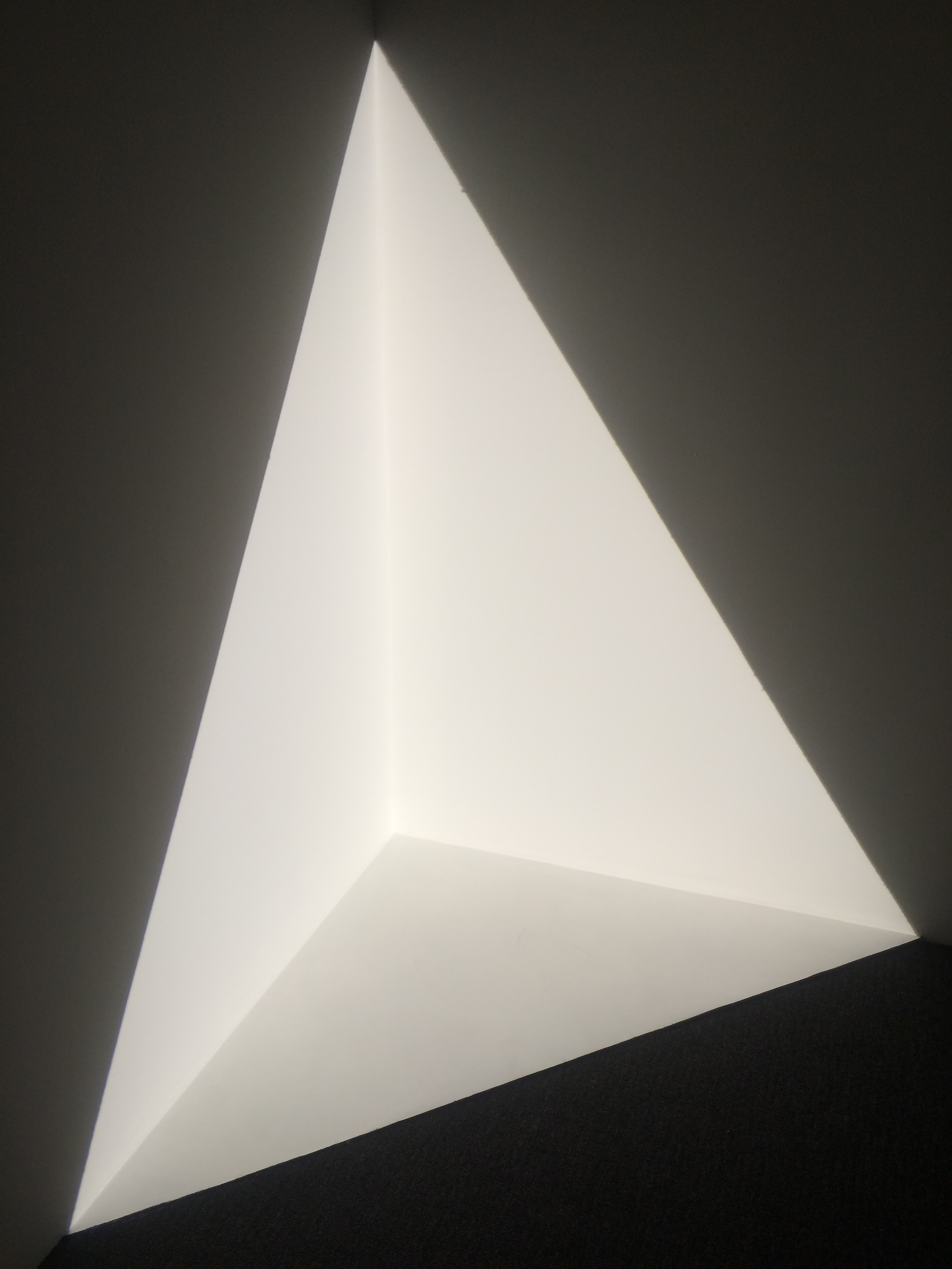 James Turrell, View at Pace Gallery 2016.