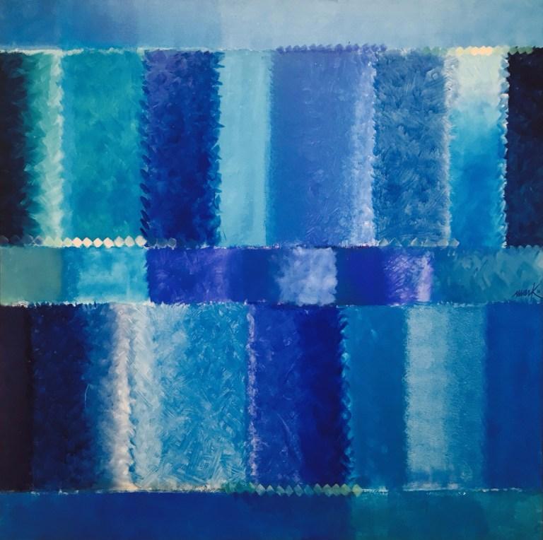 Heinz_Mack_Ohne_Titel_2016_blue