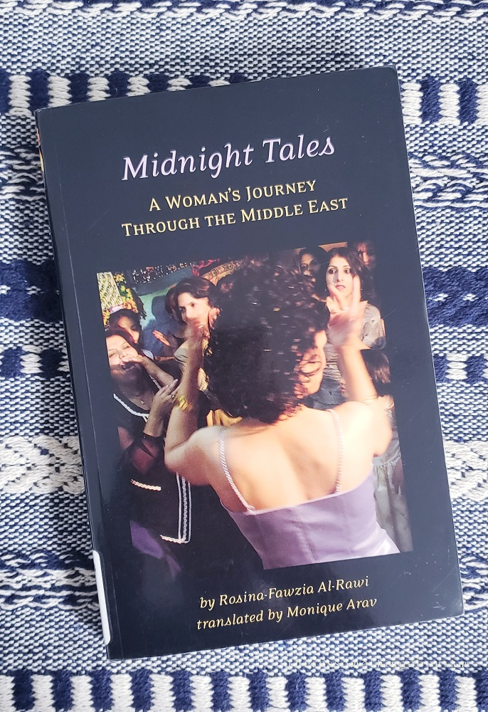 Midnight Tales: A Woman's Journey Through the Middle East Book Cover | Rosina-Fawzia Al-Rawi;