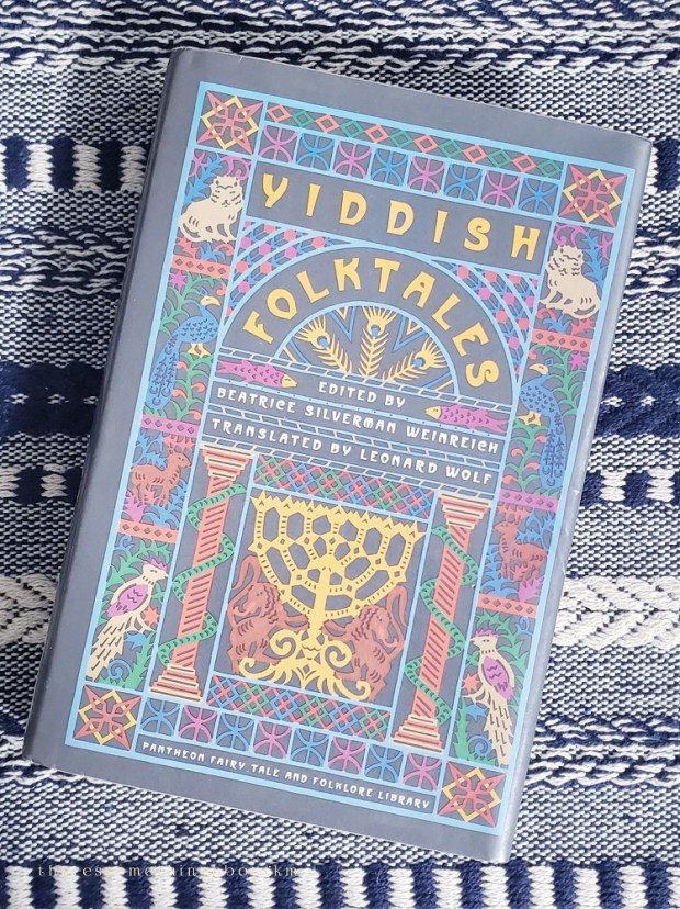 Yiddish Folktales Book Cover |Beatrice Silverman Weinreich