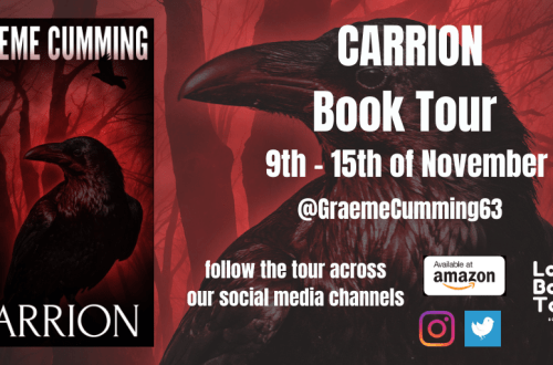 Carrion Blog Tour Header
