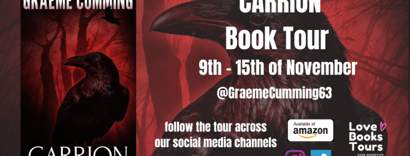 Carrion Blog Tour Header