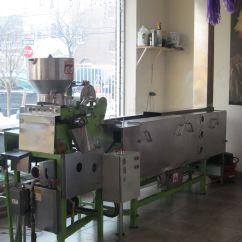 Kitchen Bistro Table Granite Counters Tortilleria Nixtamal   The Restaurant Fairy