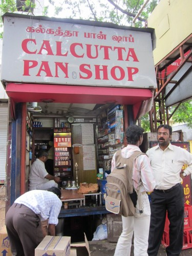 Calcutta Pan Shop best paan in chennai  The Restaurant Fairy