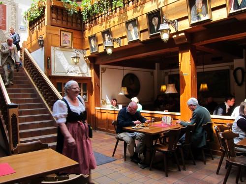 BAYERISCHER DONSIL MUNICH GERMANY  The Restaurant Fairy