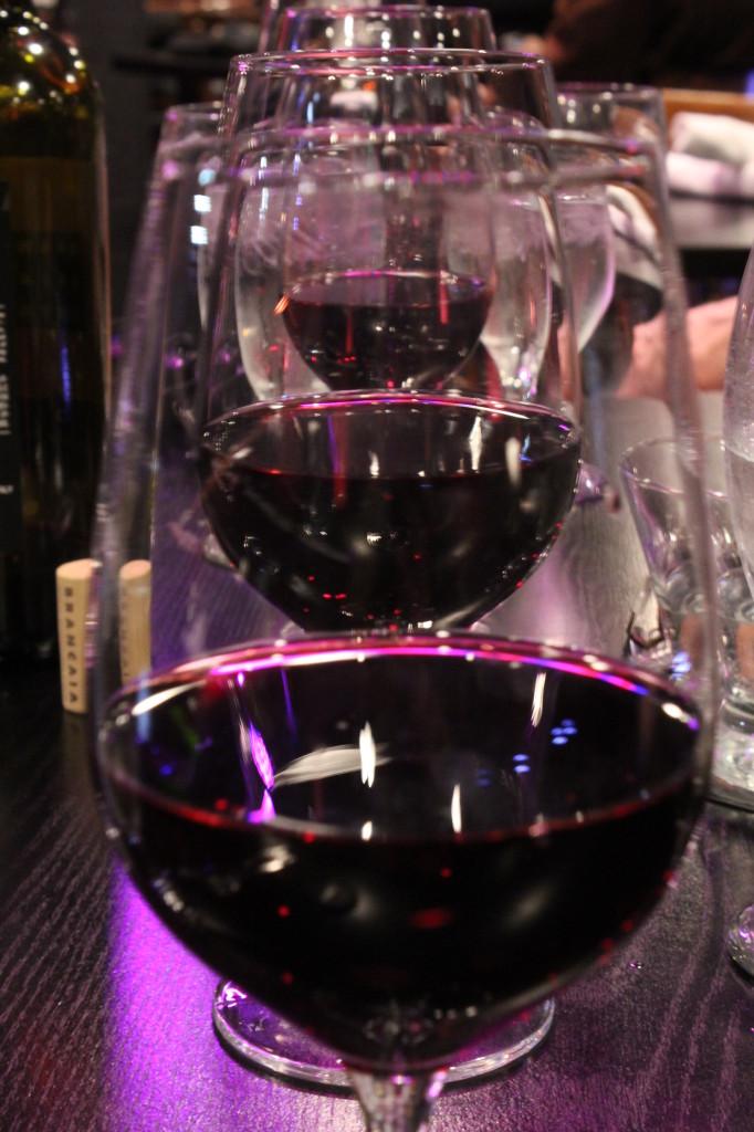 Wine on wine