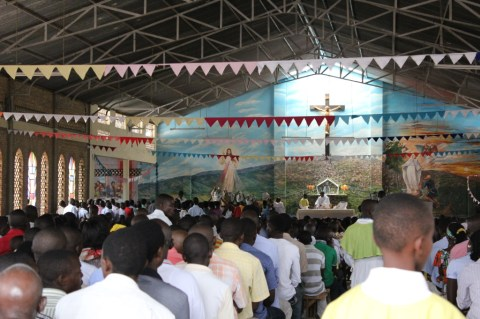 Catholic mass in Burundi