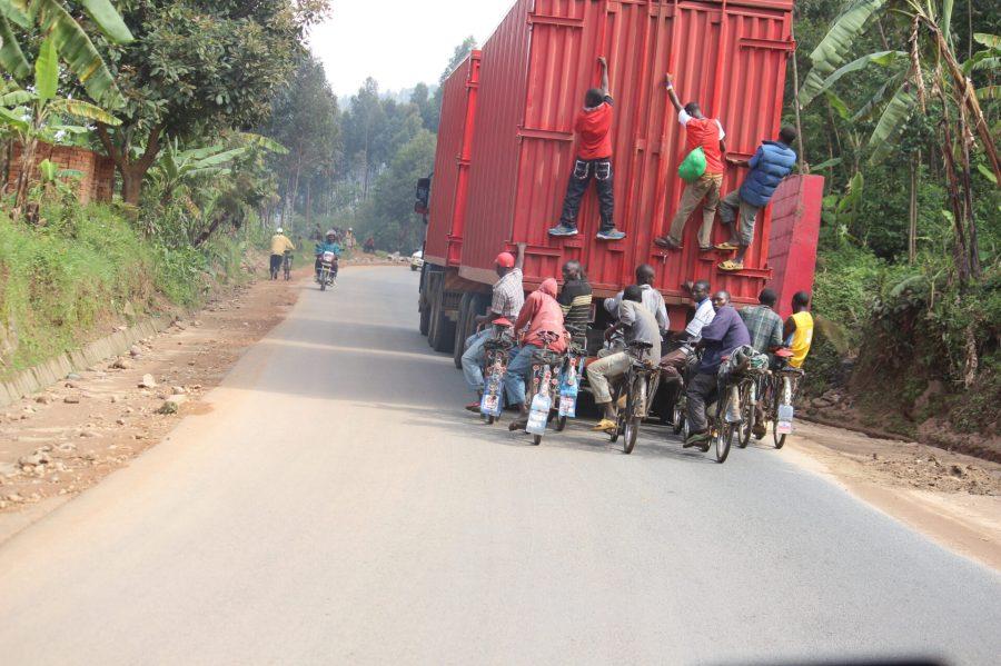 Bikes in Burundi