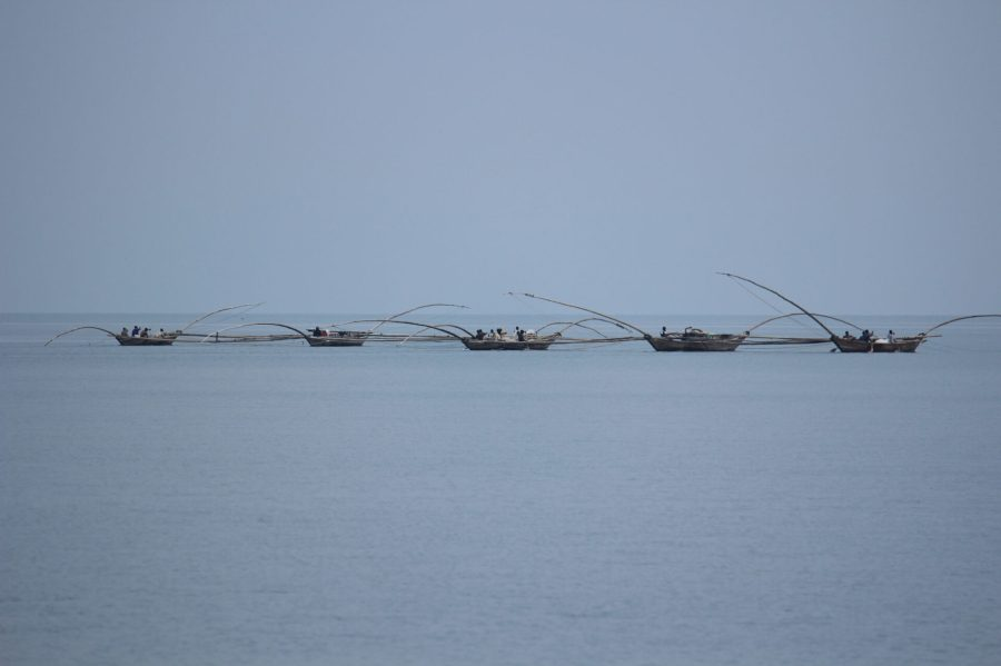 Fishermen in Gisenyi