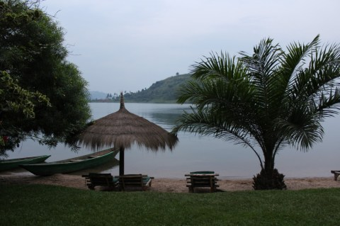 View from Paradis Malahid Hotel, Gisenyi