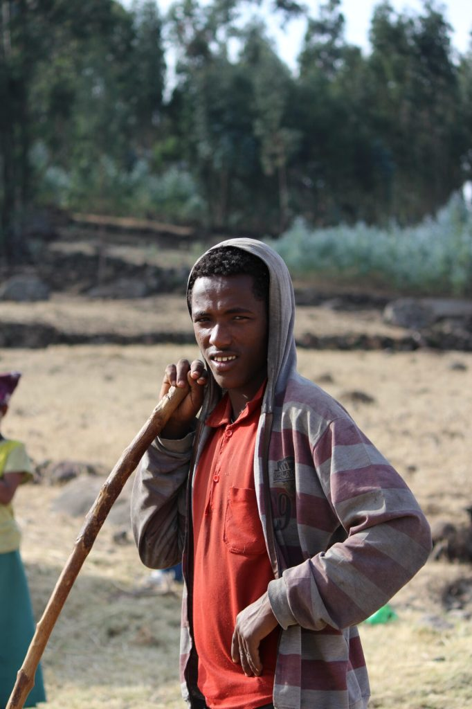 Farm Boy from Lalibela