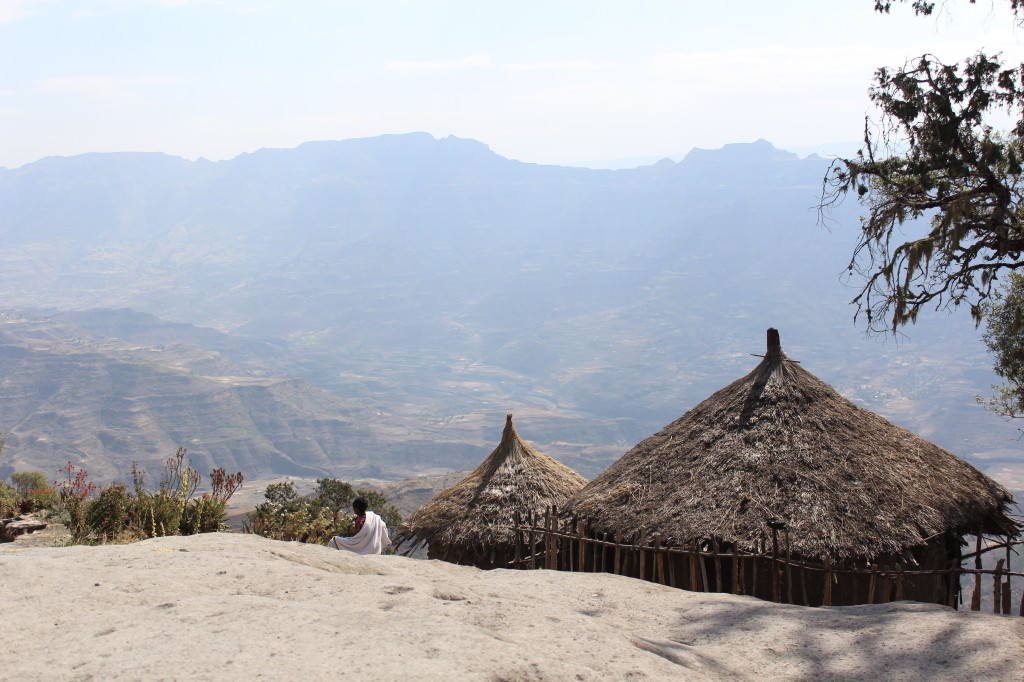 View from the Asheton Maryam Monastery