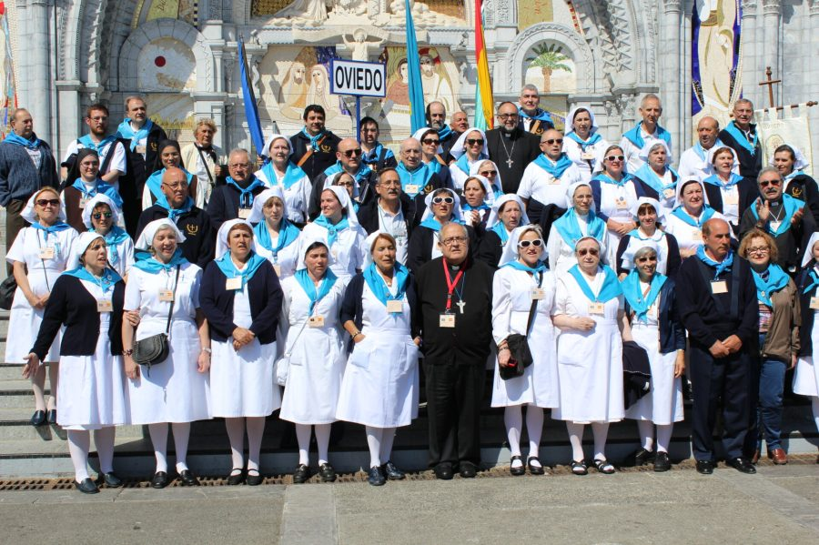 Choir Outside Our Lady of Lourdes