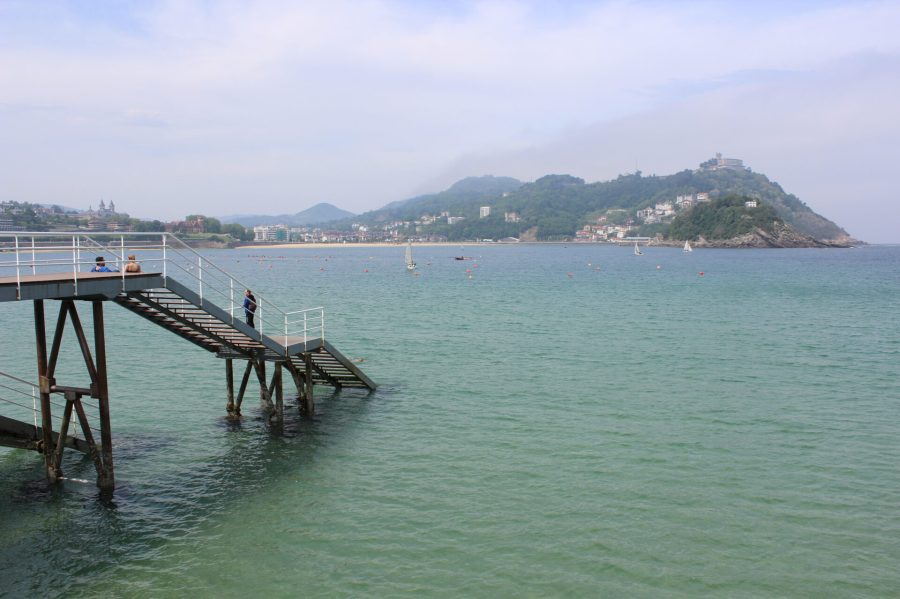 San Sebastian Dock - Basque seaside